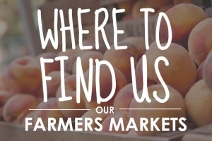 Find our Pennsylvania orchard produce at farmers markets